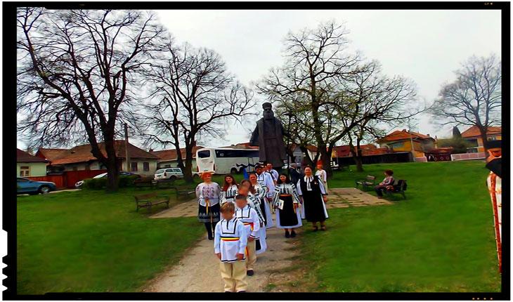 Duminica Tomii, prima împărtășanie a copiilor în Haine Naționale, Foto: Mihai Tîrnoveanu
