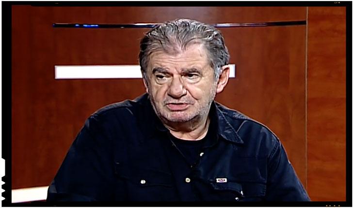 """Actorul Florin Zamfirescu: """"Draga Uniune Europeana ...erai plina de promisiuni... am observat apoi ca esti o curva perversa, ca vrei sa dereglezi mintile oamenilor, ca nu ai nimic sfant"""", Foto: captura TV nasul.tv"""