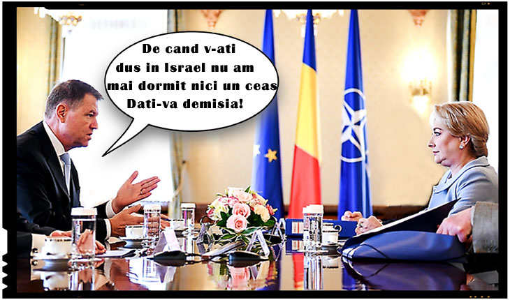 Iohannis a scos iarăși securea războiului! Cere demisia premierului Viorica Dăncilă!, Foto: stirileprotv.ro / retusare foto