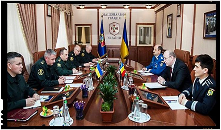 Garda Națională a Ucrainei, instruită și consiliată de către Jandarmeria Română în cadrul unui proiect bilateral, Foto: ngu.gov.ua