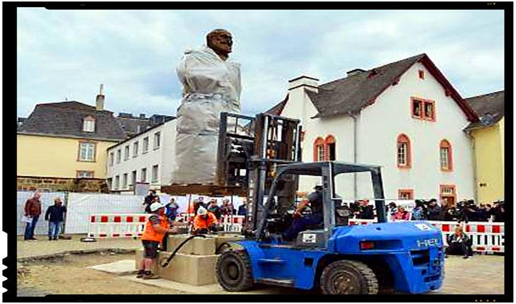"""Bolsevismul """"european"""" in actiune: o statuie a lui Karl Marx va fi dezvelita la Trier pentru a marca 200 de ani de la nasterea sa, Foto: facebook.com/profile.php?id=100008290551284"""