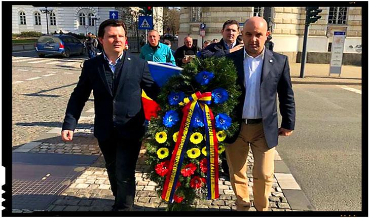 """Neamplasarea Monumentului Marii Uniri de la 1918 naste disensiuni la Arad: """"Aradul nu este moșia nimănui și, în acest AN CENTENAR, se cuvine să ne cinstim strămoșii prin fapte demne și nu prin nimicuri politice!"""", Foto: facebook"""