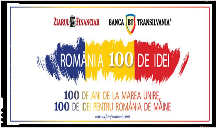 """Proiect editorial inedit: """"Romania 100 de idei – un proiect editorial marca Ziarul Financiar si Banca Transilvania"""", Foto: bancatransilvania.ro"""