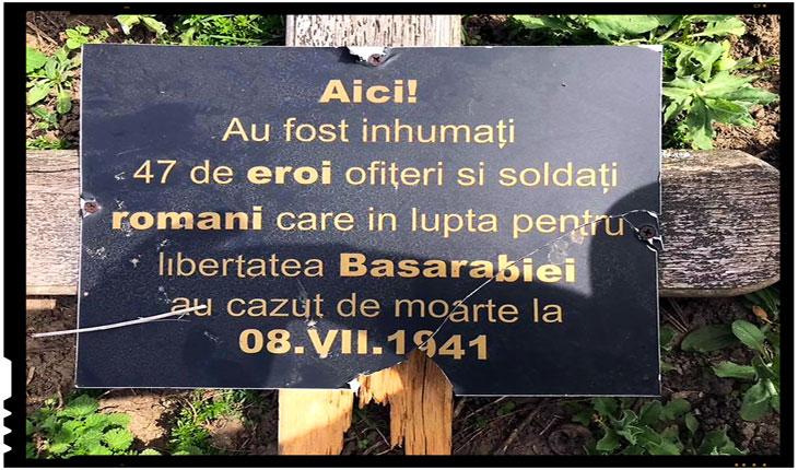 Situatie revoltatoare: 47 de eroi români aflati intr-o groapă comună nu-si gasesc inca linistea! Ei se afla pe proprietatea privată a unui antreprenor, Foto: facebook.com/ursu.anatol.1
