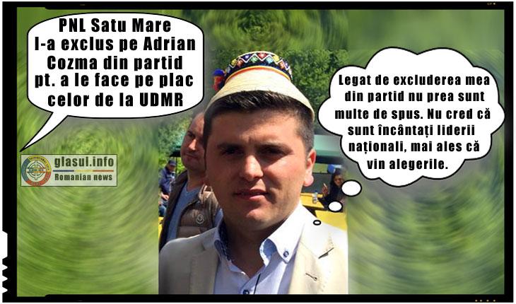 Potlogărie marca PNL: au exclus din partid un consilier județean la Satu Mare pentru a le face pe plac celor de la UDMR!, Foto: facebook.com/adrian.cozma.71