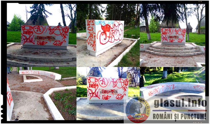 Antiromânism la Miercurea Ciuc: Cimitirul Eroilor din localitate a fost vandalizat!, Foto: Facebook / Andriesei Alexandru-Florin