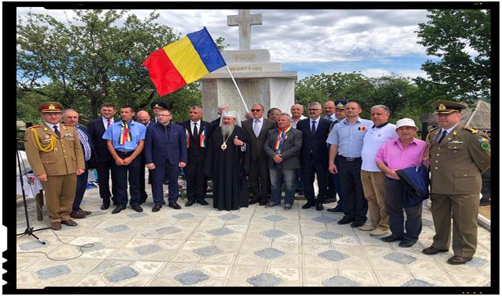 Cimitir de onoare românesc inaugurat în localitatea Tabăra, raionul Ohei din Republica Moldova, Foto: facebook / Oficiul National pentru Cultul Eroilor