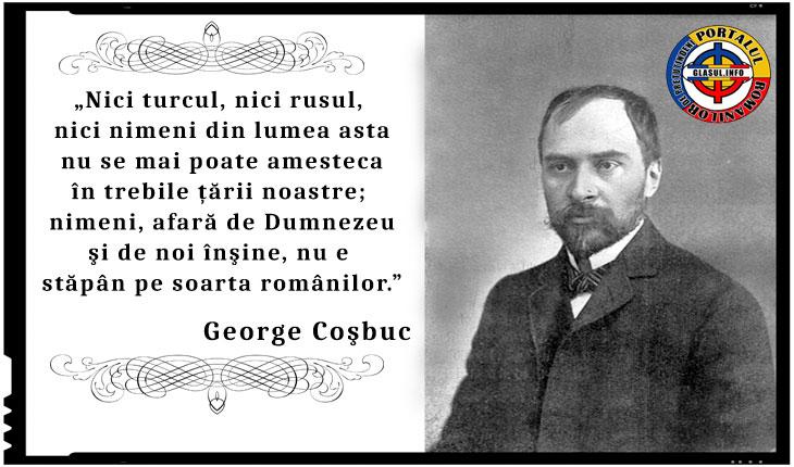 """George Coșbuc: """"Nimeni, afară de Dumnezeu şi de noi înşine, nu e stăpân pe soarta românilor"""""""