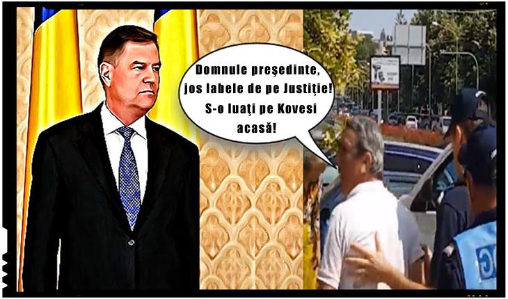 În România numai Ceata lui Geacă Roșie poate protesta neamendată?