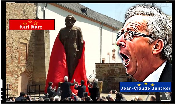 """Surpriză! Un deputat USR îl atacă pe Juncker: """"O atitudine stupidă a Preşedintelui Comisiei Europene, care participă la glorificarea celui care a pus bazele uneia dintre cele două ideologii criminale ale secolului trecut"""", Foto: youtube"""