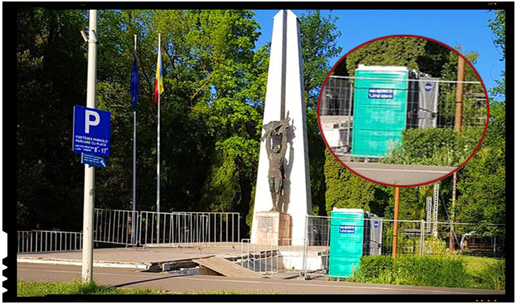 V-ați putea imagina ca există pe lume oameni care să manifeste atâta dispreț față de un monument dedicat ostașilor căzuți în război?, Foto: Facebook / Andriesei Alexandru-Florin