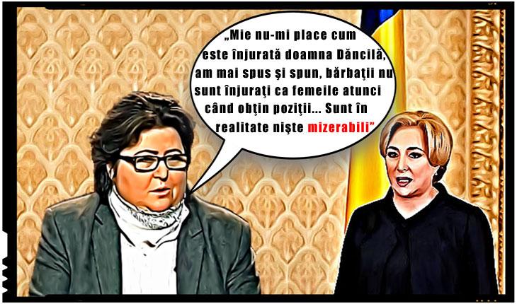 """Alina Mungiu Pippidi: """"Mie nu-mi place cum este înjurată doamna Dăncilă... Sunt în realitate nişte mizerabili"""""""