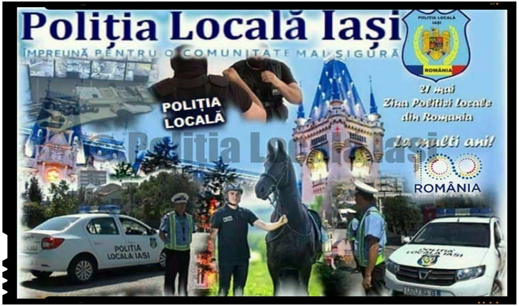 Echipamente, arme, autospeciale și patrula călare vor fi prezentate la Iași pe 21 Mai de Ziua Poliției Locale, Foto: politialocala-iasi.ro