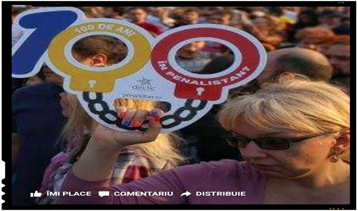 Rezistenții batjocoresc ideea de Centenar! Iși bat joc de Marea Unire, de un eveniment crucial din istoria poporului român!, Foto: facebook