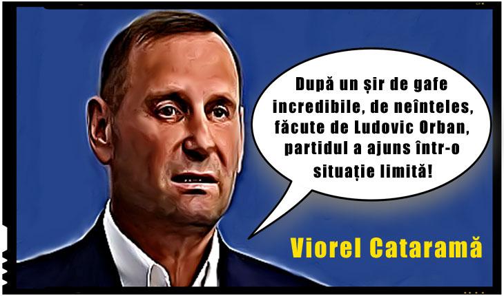 """Lupte intestine în PNL! Viorel Cataramă solicită demisia lui Orban: """"După un șir de gafe incredibile, de neînteles, făcute de Ludovic Orban, partidul a ajuns într-o situație limită!"""""""