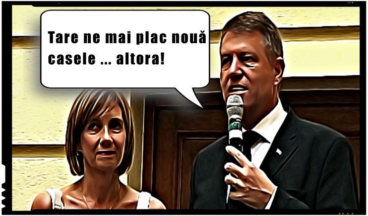 Pasiunea pentru case le-a adus soților Iohannis o nouă plângere penală, depusă la DNA, cu privire la dobândirea frauduloasă a unor imobile în Sibiu, Foto: activenews.ro