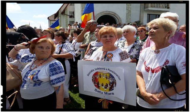Carei, Inaugurarea monumentului refugiatilor si deportatilor români din urma dictatului de la Viena