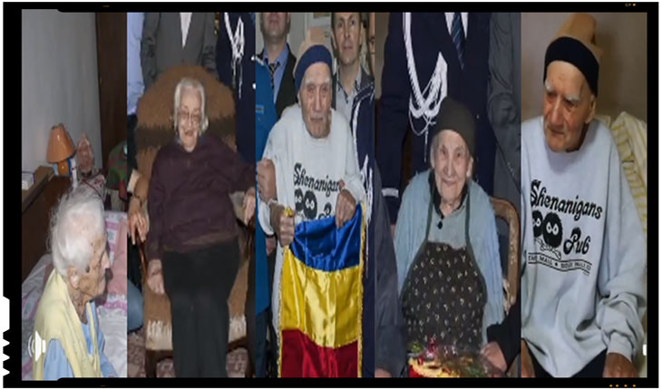 Cinci centagenari născuţi în anul 1918 au fost fost aniversați în cadrul unui eveniment organizat de MAI Harghita, Foto: facebook.com/Jandarmeria-Harghita-1409655989363837