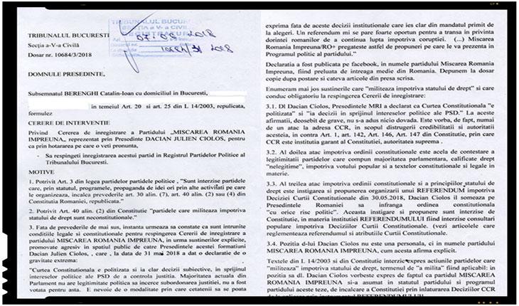 Șoc și groază printre #rezistenți: Mișcarea România Împreună s-ar putea desființa, Foto: facebook.com/berenghi.catalin