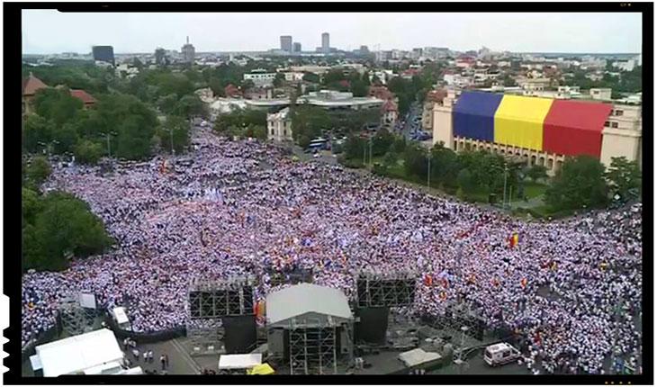 Am trăit cumva într-o altă Românie? Propaganda mizerabilă a statului paralel împotriva românilor care au reacționat împotriva abuzurilor