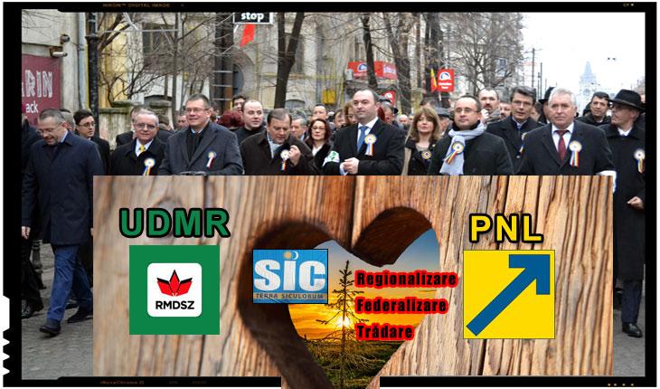 """PNL își exclude românii patrioți la cererea UDMR-ului? În încercarea de a curta UDMR, PNL-ul se arată dispus să exludă anumiți lideri """"naționaliști""""!"""