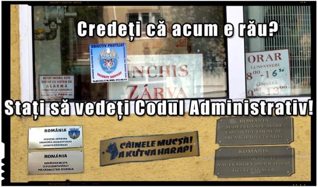 Încă un instrument de deznationalizare a românilor: Codul Administrativ