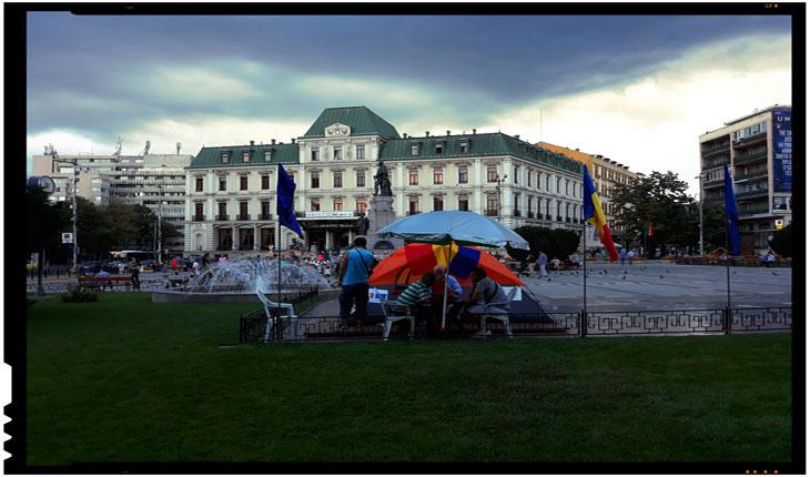 Când legea este respectată selectiv, atunci acela nu mai este stat de drept! Sunt autorizate corturile amplasate la Iași și la Cluj pe domeniul public?