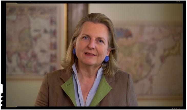 """Kneissl Karin - Desant al Austriei la București confirmat oficial! Începe lupta la nivel """"diplomatic"""" pentru resursele din Marea Neagră, Foto: captura video youtube"""