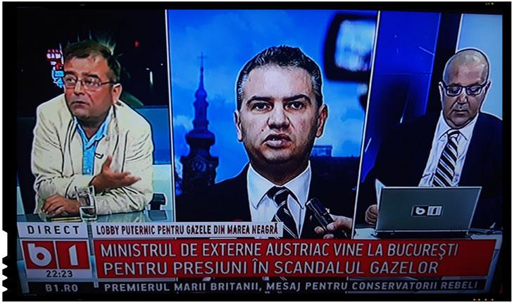 Ministrul de externe din Austria vine la București pentru a face presiuni în scandalul gazelor?, Foto: B1 TV