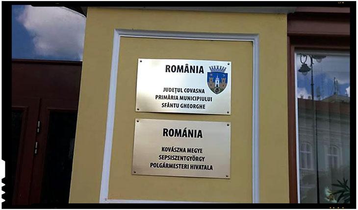 Și la Sfântu Gheorghe sunt ostracizate însemnele statului român! Ce fac autoritățile?, Foto: facebook.com/gheorghe.feldiorean