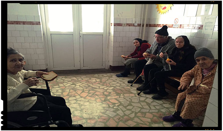 Un strigăt de ajutor pentru situația deplorabilă în care se găsesc bătrânii Centrul de bătrâni din Mărășești, Foto: facebook.com/enache.nicuta