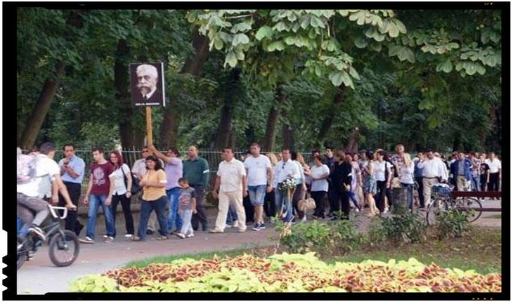 Incredibil! Și I. C. Brătianu e interzis la Carei? De ani buni, inițiativele românilor de a amplasa un bust al lui Brătianu se lovesc de refuzul UDMR-iștilor, Foto: facebook.com/ciuta.ilie/
