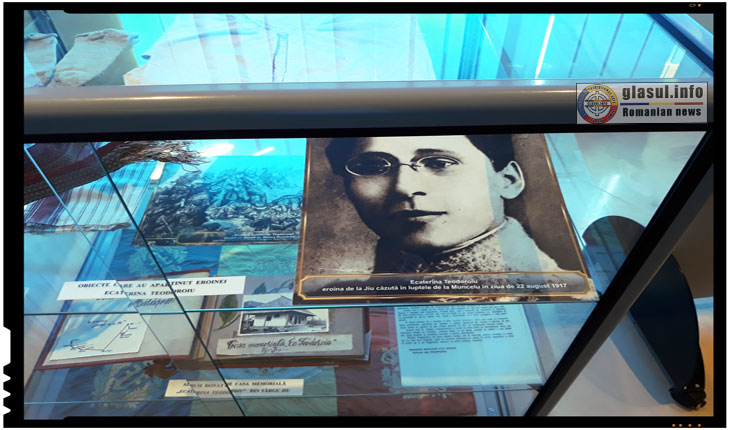 """La 22 august 1917 cădea în luptă sublocotenentul Ecaterina Teodoroiu: """"Logodită cu gloria, Caterina a murit mireasă!"""", Foto din Muzeul Vrancei de la Mărășești"""
