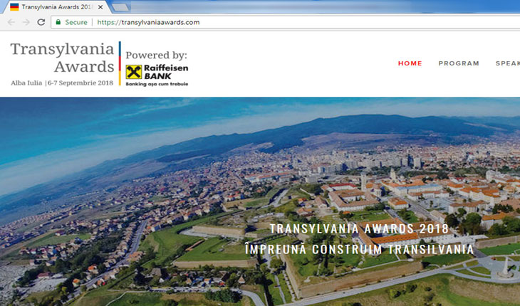 Dezgustător! În pragul comemorării Dictatului de la Viena, austriecii de la Raiffeisen Bank promovează steagul secesionist al Transilvaniei?