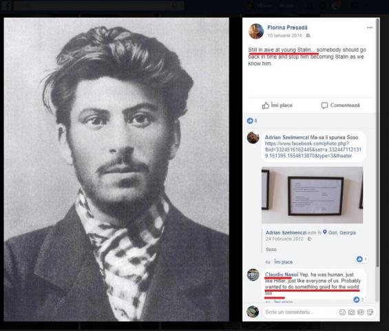 """V-am spus că USR-iștii sunt noii bolșevici? Deputatul USR Claudiu Năsui despre Stalin: """"Era uman, ca și Hitler, ca și fiecare dintre noi. Probabil a dorit să facă și ceva bun pentru omenire"""""""