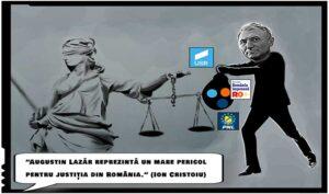 """Ion Cristoiu: """"Augustin Lazăr trebuie oprit neapărat, el reprezintă un mare pericol pentru justiția din România!"""""""