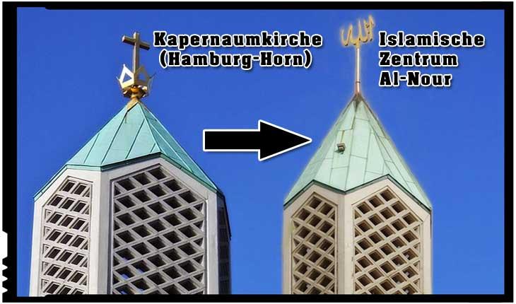 Metamorfozarea unei biserici în moschee în Germania beneficiază de o inaugurare la care vor fi prezenți politicieni germani de rang înalt