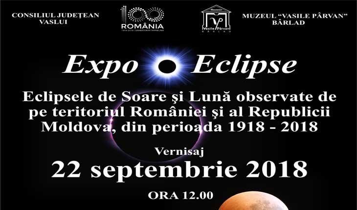 Vernisaj Foto-Expoziția Eclipsele de Soarele și Lună observate de pe teritoriul României și Republicii Moldova, din perioada 1918 - 2018