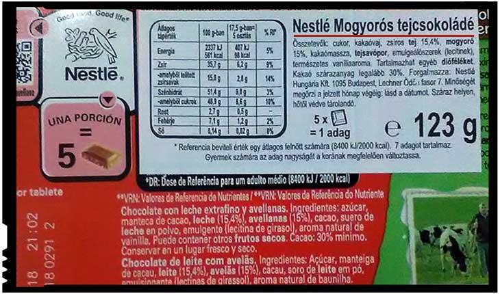Statul român e neputincios la Satu Mare? Produsele vândute în comerț sunt traduse doar în limba maghiară!, Foto: facebook.com/alexandru.vasile.35