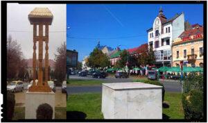 Șovinii UDMR-iști se războiesc de-acum și cu troițele noastre? La Satu Mare primarul a dispus înlăturarea troiței românești din centrul orașului!, Foto: facebook.com/alexandru.vasile.35