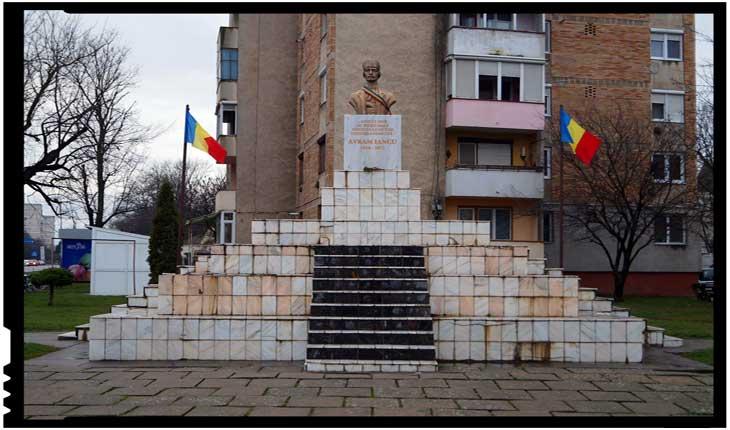 Unui consilier local de la Carei i s-a refuzat dreptul de a depune un proiect de hotărâre cu privire la reabilitarea soclului pe care este amplasat bustul lui Avram Iancu?, Foto: BuletindeCarei.ro