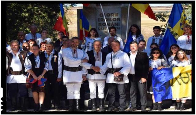 """Mihai Tîrnoveanu: """"11 mii de martiri ne cheamă astazi din nou la Lupta pentru identitatea noastră națională!"""", Foto: Facebook / Mihai Tîrnoveanu"""