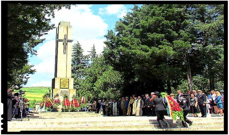 Pe 14 octombrie la Oarba de Mureș va avea loc un parastas de pomenire a celor 11000 de eroi care acum 74 de ani și-au dat viata în teribila luptă de pe Dealul Sângeorgiului, Foto: Facebook / Monumentul Eroilor Oarba de Mures