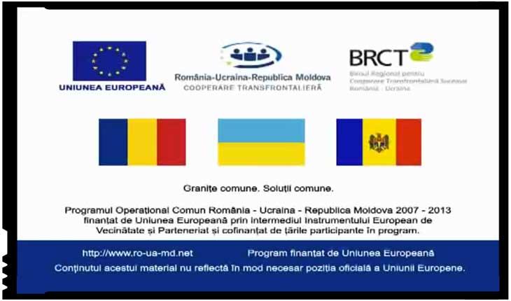 Uniunea Europeană finanțează un program de cooperare transfrontalieră între România, Ucraina și Republica Moldova, Foto: captură video ro-ua-md.net