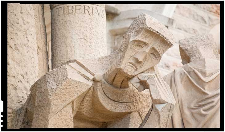 Catedrala Sagrada Familia din Barcelona, grup statuar