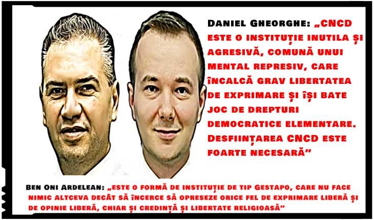 """Se trezesc și politicienii din România? Liberalii cer desființarea CNCD! Ben-Oni Ardelean: """"E o instituție de tip Gestapo. Opresează exprimarea liberă!"""""""