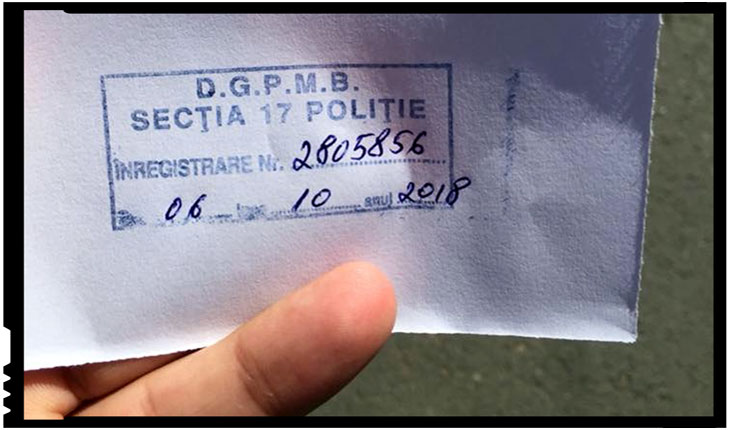 Polițiști care îndemnau la boicotul refrendumului, Foto: facebook.com/c.oprys