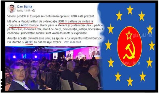 USR vânează locul celor de la ALDE România în Grupul Alianței Liberalilor și Democraților pentru Europa