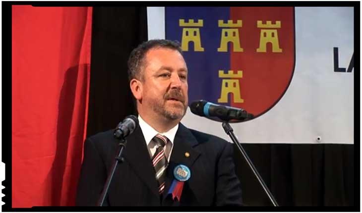 Bernd Fabritius se arată îngrijorat de amplificarea sentimentului antigerman în România, Foto: youtube