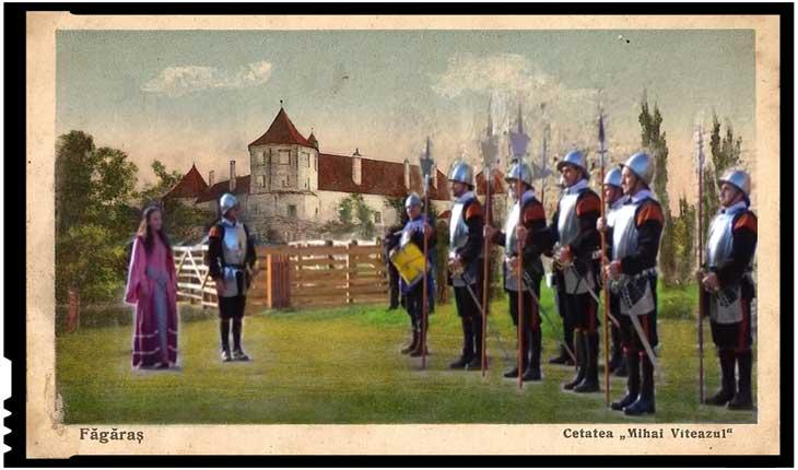 Sindromul slugoiului îndobitocit: gardă austriacă la Cetatea Alba Iulia, și habsburgă la Cetatea Făgăraș!?